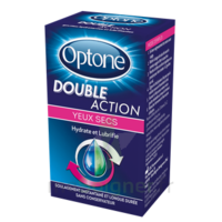 Optone Double Action Solution Oculaire Yeux Secs Fl/10ml à Forbach