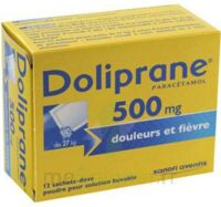 Doliprane 500 Mg Poudre Pour Solution Buvable En Sachet-dose B/12 à Forbach