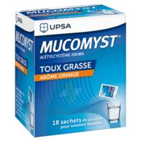Mucomyst 200 Mg Poudre Pour Solution Buvable En Sachet B/18 à Forbach