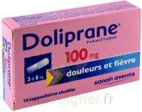 Doliprane 100 Mg Suppositoires Sécables 2plq/5 (10) à Forbach