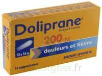 DOLIPRANE 200 mg Suppositoires 2Plq/5 (10) à Forbach