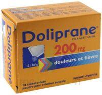 Doliprane 200 Mg Poudre Pour Solution Buvable En Sachet-dose B/12 à Forbach
