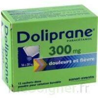 Doliprane 300 Mg Poudre Pour Solution Buvable En Sachet-dose B/12 à Forbach