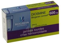 Diosmine Biogaran Conseil 600 Mg, Comprimé Pelliculé à Forbach