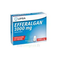 Efferalgan 1000 mg Comprimés pelliculés Plq/8 à Forbach