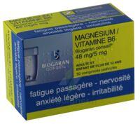 MAGNESIUM/VITAMINE B6 BIOGARAN CONSEIL 48 mg/5 mg, comprimé pelliculé à Forbach
