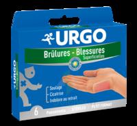 URGO BRULURES-BLESSURES PETIT FORMAT x 6 à Forbach