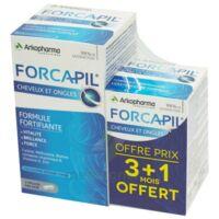 Forcapil Gélules croissance vitalité cheveux ongles B/180+60 à Forbach