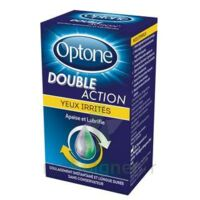 Optone Double Action Solution Oculaire Yeux Irrités Fl/10ml à Forbach