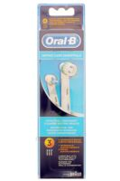 BROSSETTE DE RECHANGE ORAL-B ORTHO CARE ESSENTIALS x 3 à Forbach
