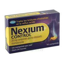 Nexium Control 20 Mg Comprimés Gastro-résistants Plq/14 à Forbach