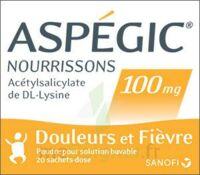 Aspegic Nourrissons 100 Mg, Poudre Pour Solution Buvable En Sachet-dose à Forbach