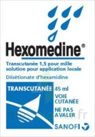 HEXOMEDINE TRANSCUTANEE 1,5 POUR MILLE, solution pour application locale à Forbach
