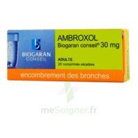 AMBROXOL BIOGARAN CONSEIL 30 mg, comprimé sécable à Forbach