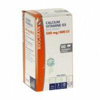 CALCIUM VITAMINE D3 BIOGARAN 500 mg/400 UI, comprimé à sucer à Forbach
