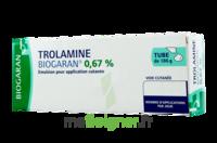 TROLAMINE BIOGARAN 0,67 % Emuls appl cut T/186g à Forbach