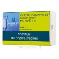 CYSTINE/VITAMINE B6 BIOGARAN CONSEIL 500 mg/50 mg Cpr pell Plq/120 à Forbach