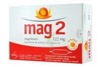 MAG 2 122 mg S buv en ampoule sans sucre édulcoré à la saccharine sodique 30Amp/10ml à Forbach
