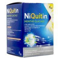 NIQUITIN 4 mg Gom à mâcher médic menthe glaciale sans sucre Plq PVC/PVDC/Alu/100 à Forbach