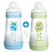 MAM BIBERON EASY START anti-colique 260 ml lot de 2_ BLEU & VERT à Forbach