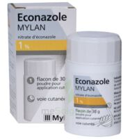ECONAZOLE MYLAN 1 % Pdr appl cut Fl/30g à Forbach