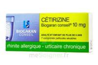 Cetirizine Biogaran Conseil 10 Mg, Comprimé Pelliculé Sécable à Forbach