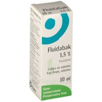 Fluidabak 1,5 %, Collyre En Solution à Forbach