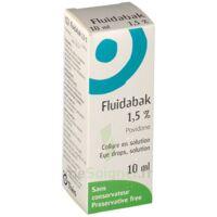 FLUIDABAK 1,5 %, collyre en solution à Forbach