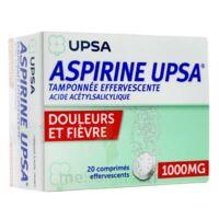 ASPIRINE UPSA TAMPONNEE EFFERVESCENTE 1000 mg, comprimé effervescent à Forbach