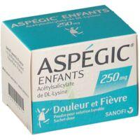 ASPEGIC ENFANTS 250, poudre pour solution buvable en sachet-dose à Forbach