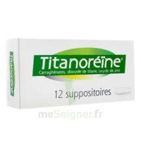 TITANOREINE Suppositoires B/12 à Forbach