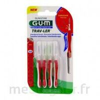 GUM TRAV - LER, 0,8 mm, manche rouge , blister 4 à Forbach