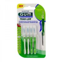 GUM TRAV - LER, 1,1 mm, manche vert , blister 4 à Forbach