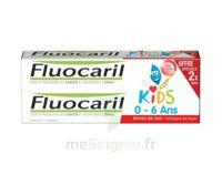 Fluocaril Kids Gel dentifrice Fraise 0/6ans 2*50ml à Forbach