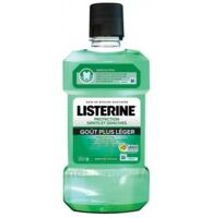Listerine Protection Dents Gencives Bain Bouche Goût Plus Léger Fl/500ml à Forbach