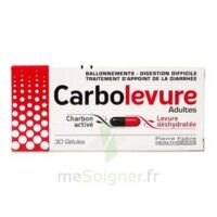 Carbolevure Gélules Adulte Plq/30 à Forbach