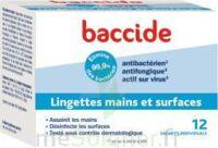 Baccide Lingette désinfectante mains & surface 12 Pochettes à Forbach