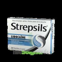 Strepsils Lidocaïne Pastilles Plq/24 à Forbach