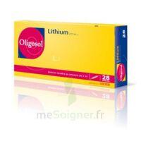 Oligosol Lithium Solution buvable en ampoule ou en récipient unidose 28Amp/2ml à Forbach