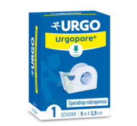 Urgopore Sparadrap non tissé 2,5cmx5m dévidoir à Forbach