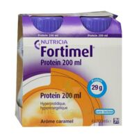 Fortimel Protein Nutriment caramel 4 Bouteilles/200ml à Forbach