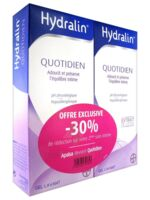 Hydralin Quotidien Gel lavant usage intime 2*200ml à Forbach
