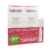 Saforelle Solution Soin Lavant Doux 2*500ml+100ml à Forbach