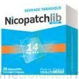 Nicopatchlib 14 Mg/24 H Dispositifs Transdermiques B/28 à Forbach
