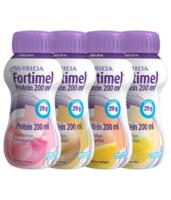 Fortimel Protein Nutriment multi saveurs caramel/vanille/fraise/mangue 4 Bouteilles/200ml à Forbach