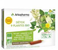 Arkofluide Bio Ultraextract Solution buvable détox 9 Plantes 20 Ampoules/10ml à Forbach