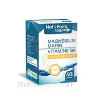 Nat&Form Expert Magnésium+Vitamine B6 Gélules B/40 à Forbach