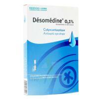 DESOMEDINE 0,1 % Collyre sol 10Fl/0,6ml à Forbach