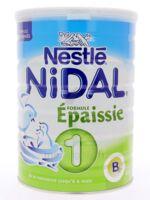 NIDAL LAIT 1 FORMULE EPAISSIE 800G à Forbach
