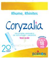 Boiron Coryzalia Solution Buvable Unidose B/20 à Forbach